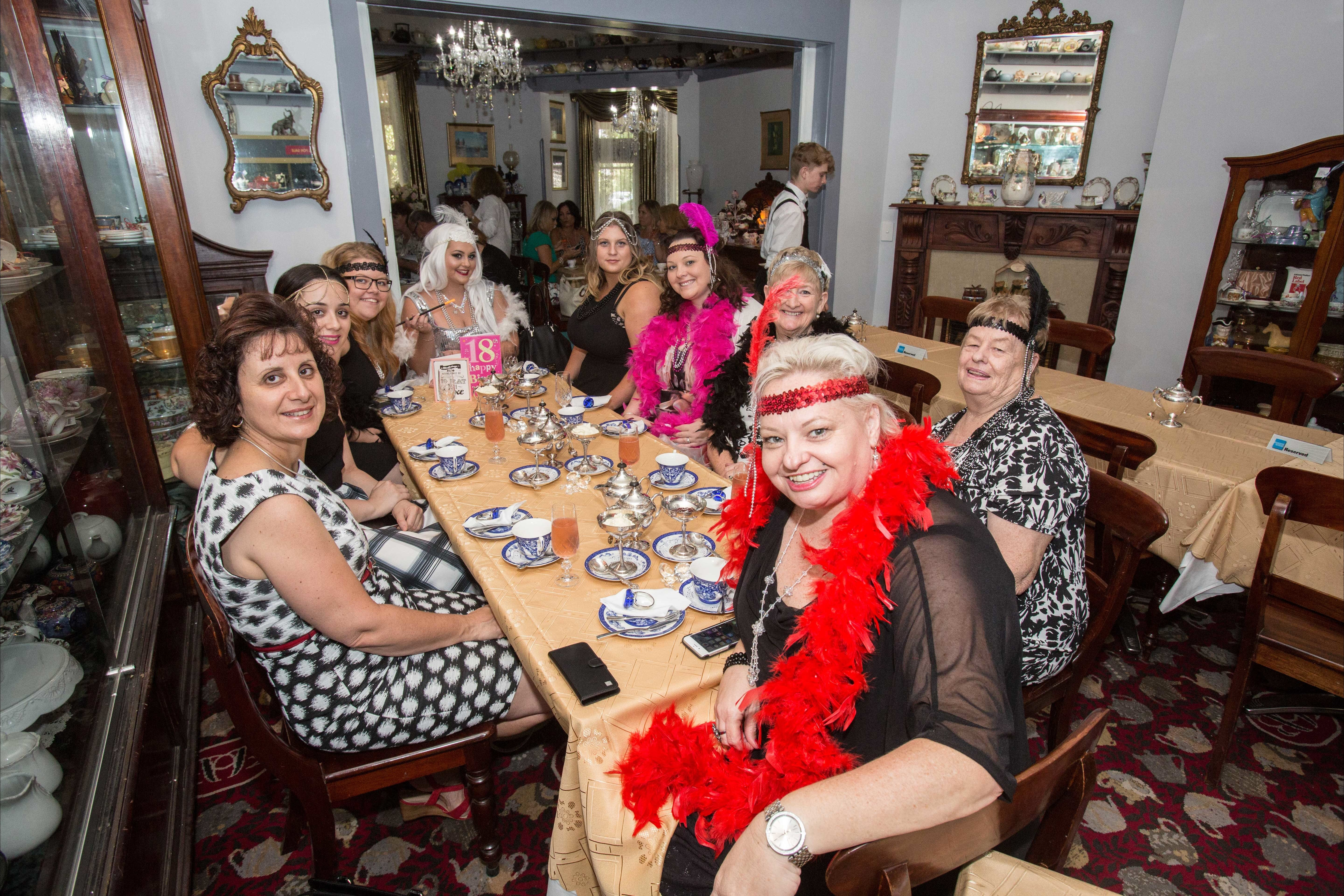 Bygone Beauty's Traditional High Tea Supreme for Good Food Month. - WA Accommodation