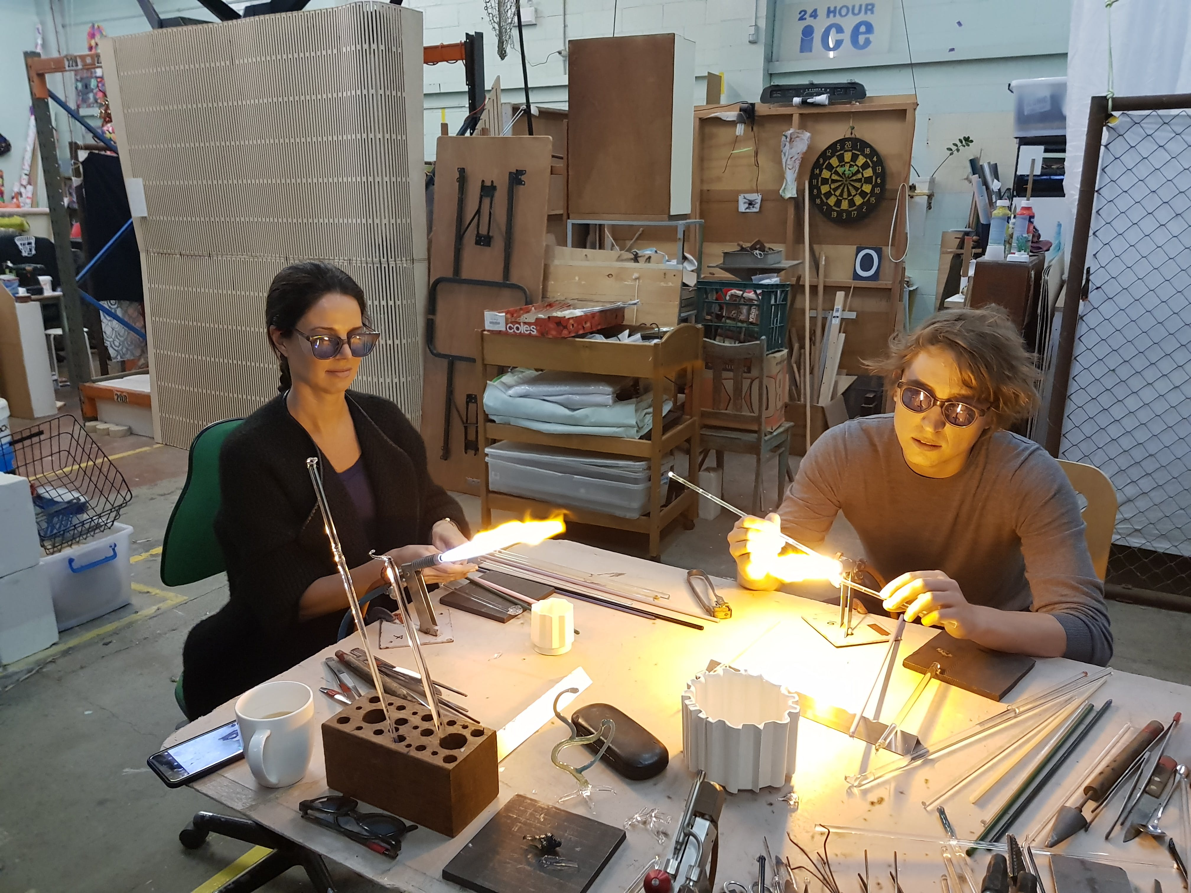 Glass Blowing Beginners Workshop Weekend - WA Accommodation