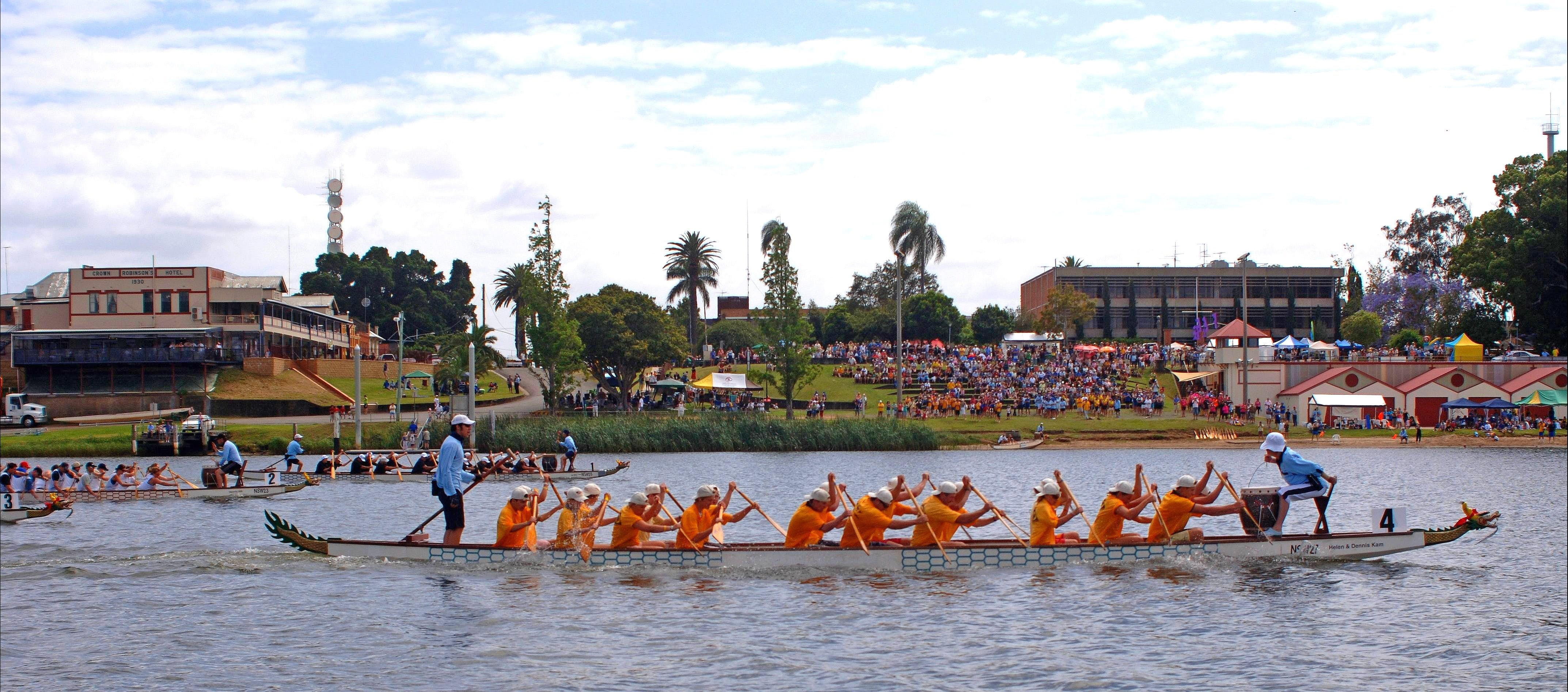 Jacaranda Dragon Boat Races - WA Accommodation