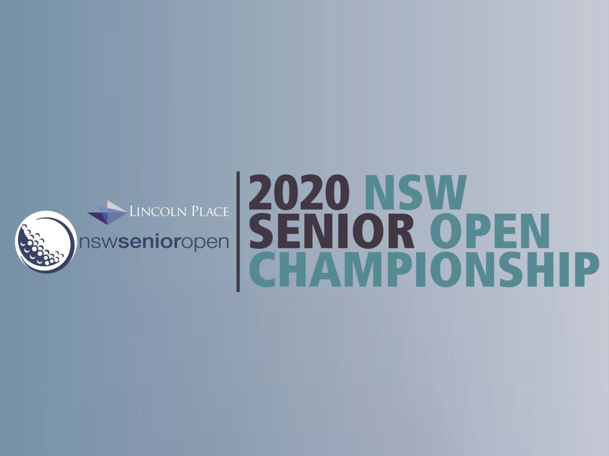 Men's NSW Senior Open - WA Accommodation