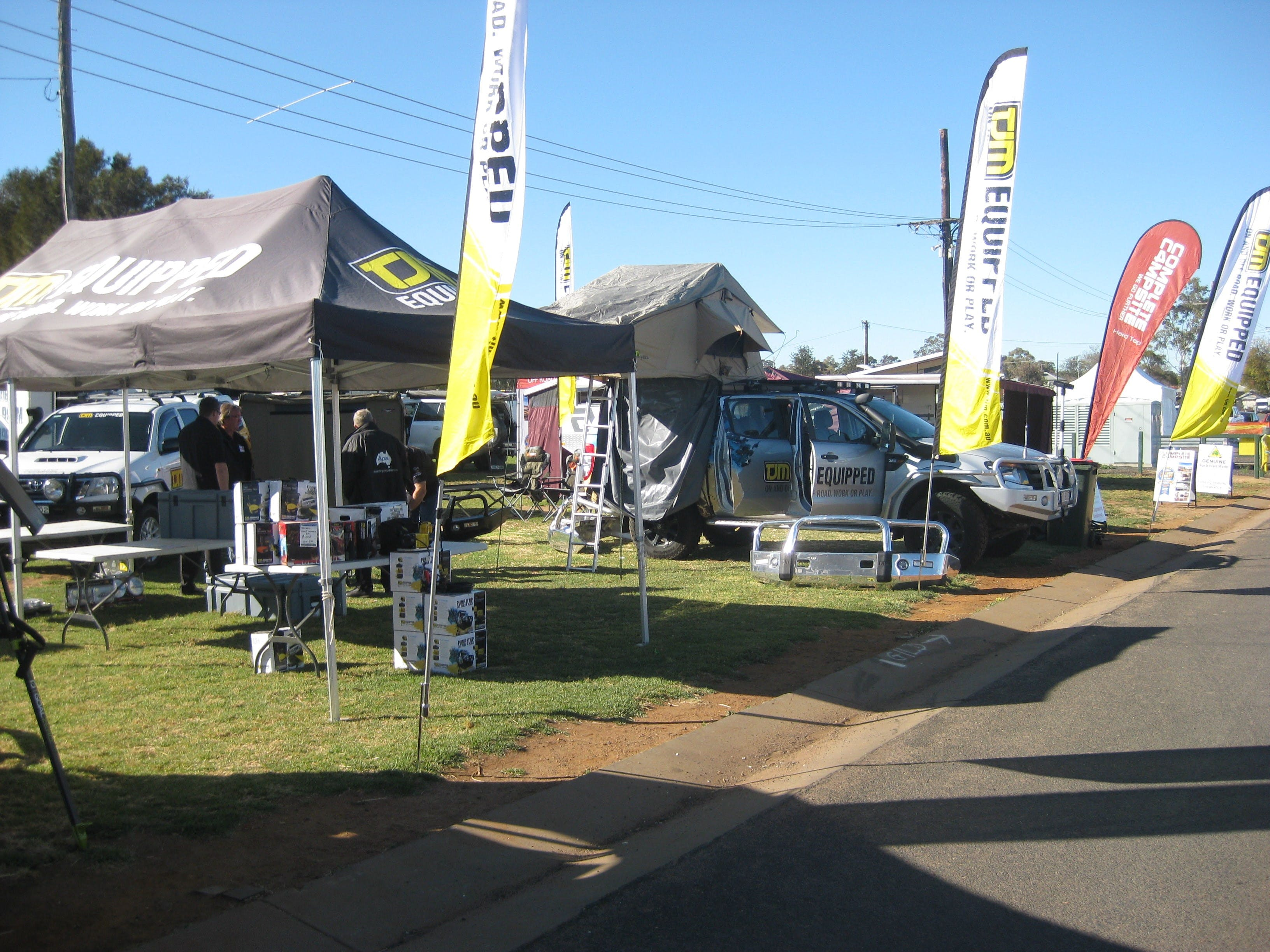 Orana Caravan Camping 4WD Fish and Boat Show - WA Accommodation