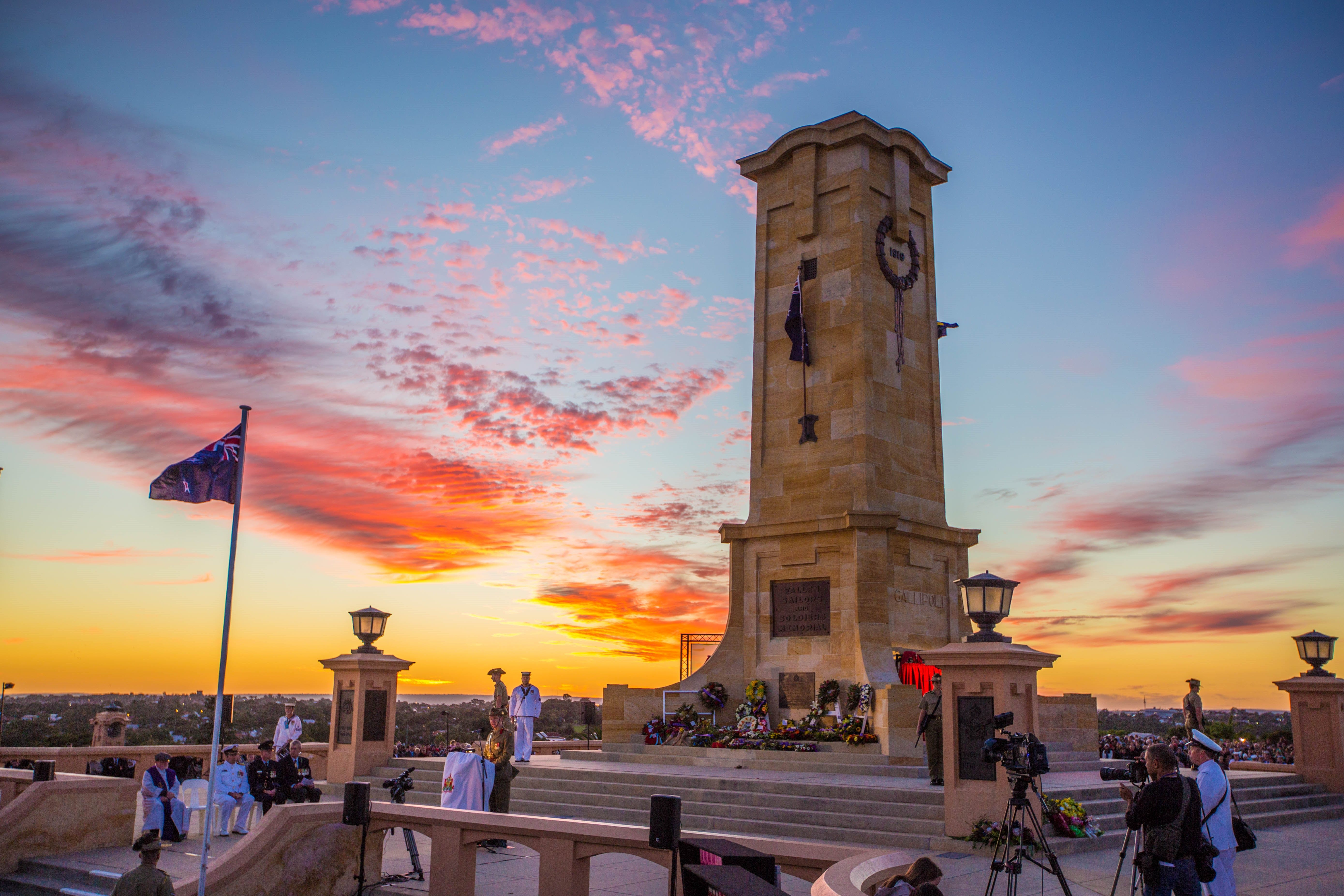 Anzac Day - Fremantle - WA Accommodation