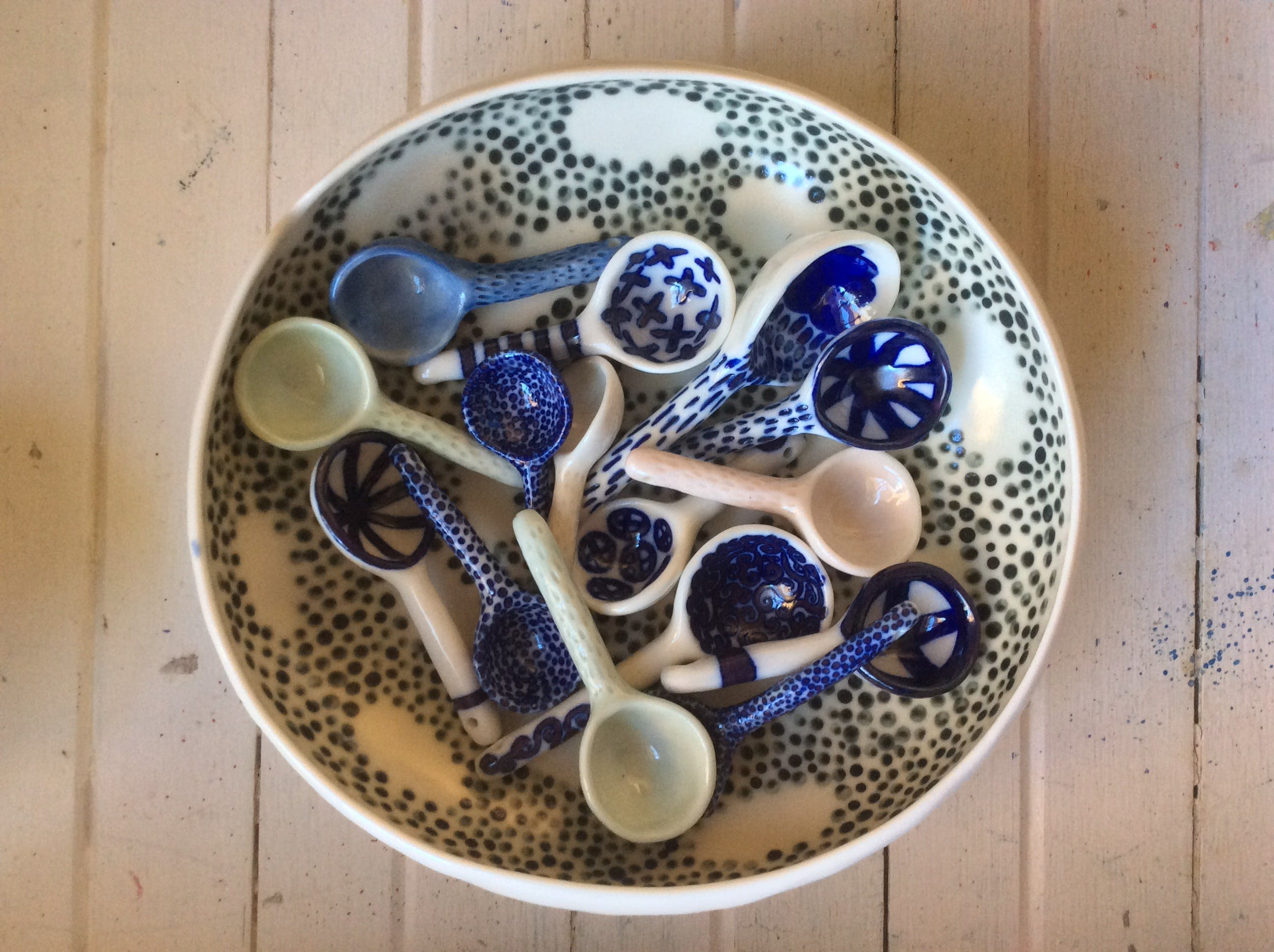 Ceramic Spoons with Nicole Ison - WA Accommodation