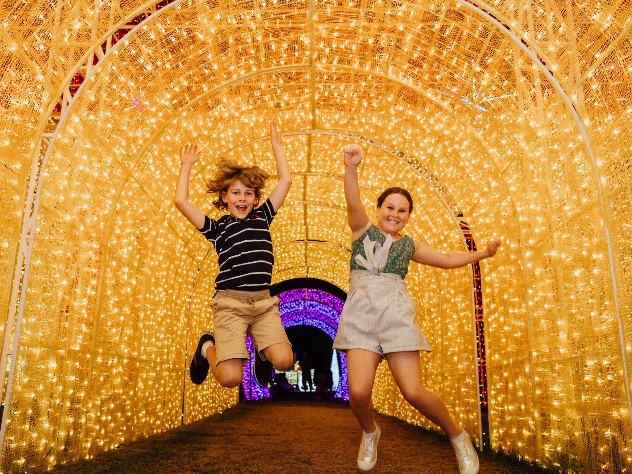 Christmas Lights Spectacular New Year's Eve at Hunter Valley Gardens - WA Accommodation