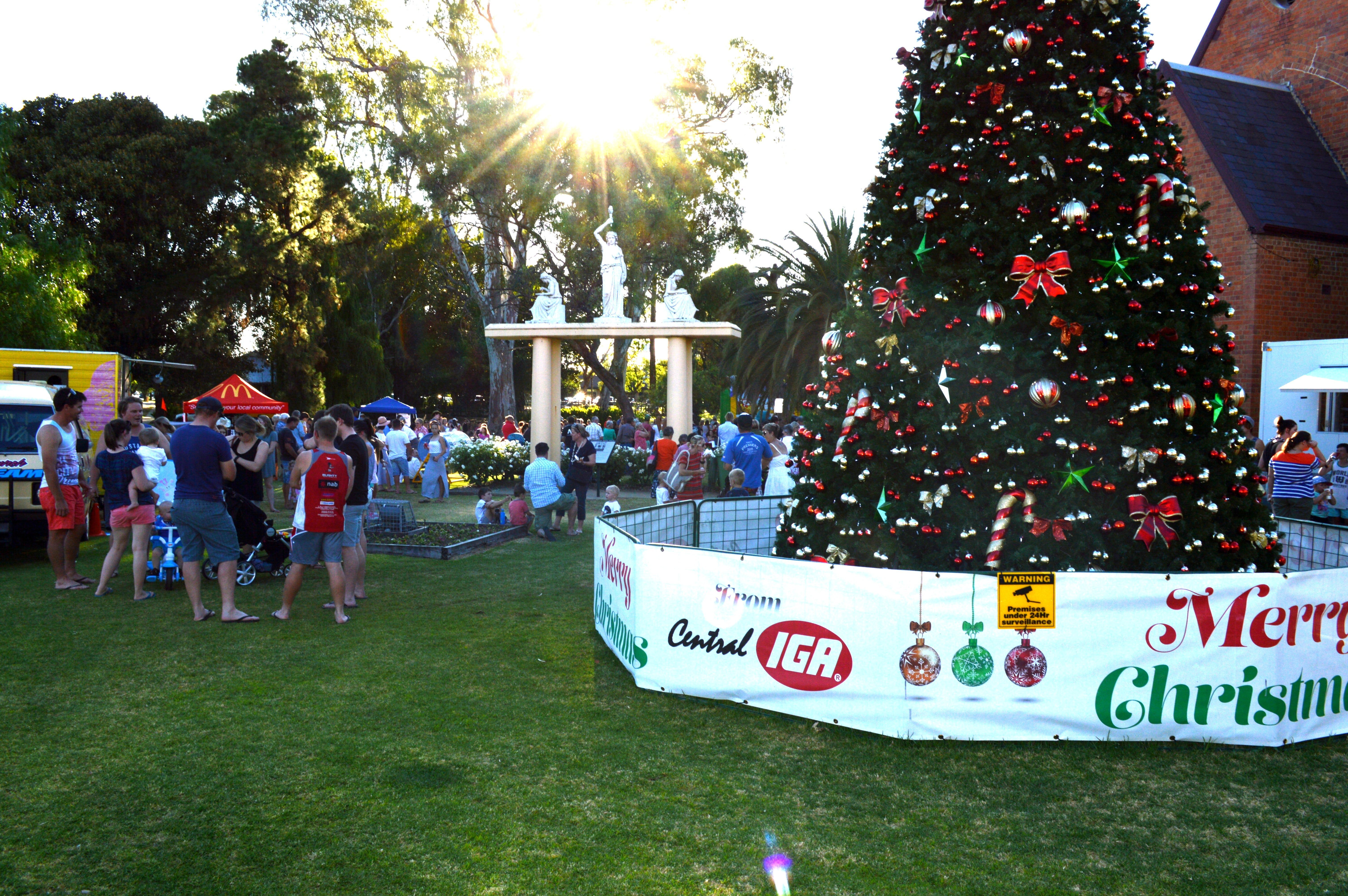 Community Christmas Party and Carols by Candlelight - WA Accommodation