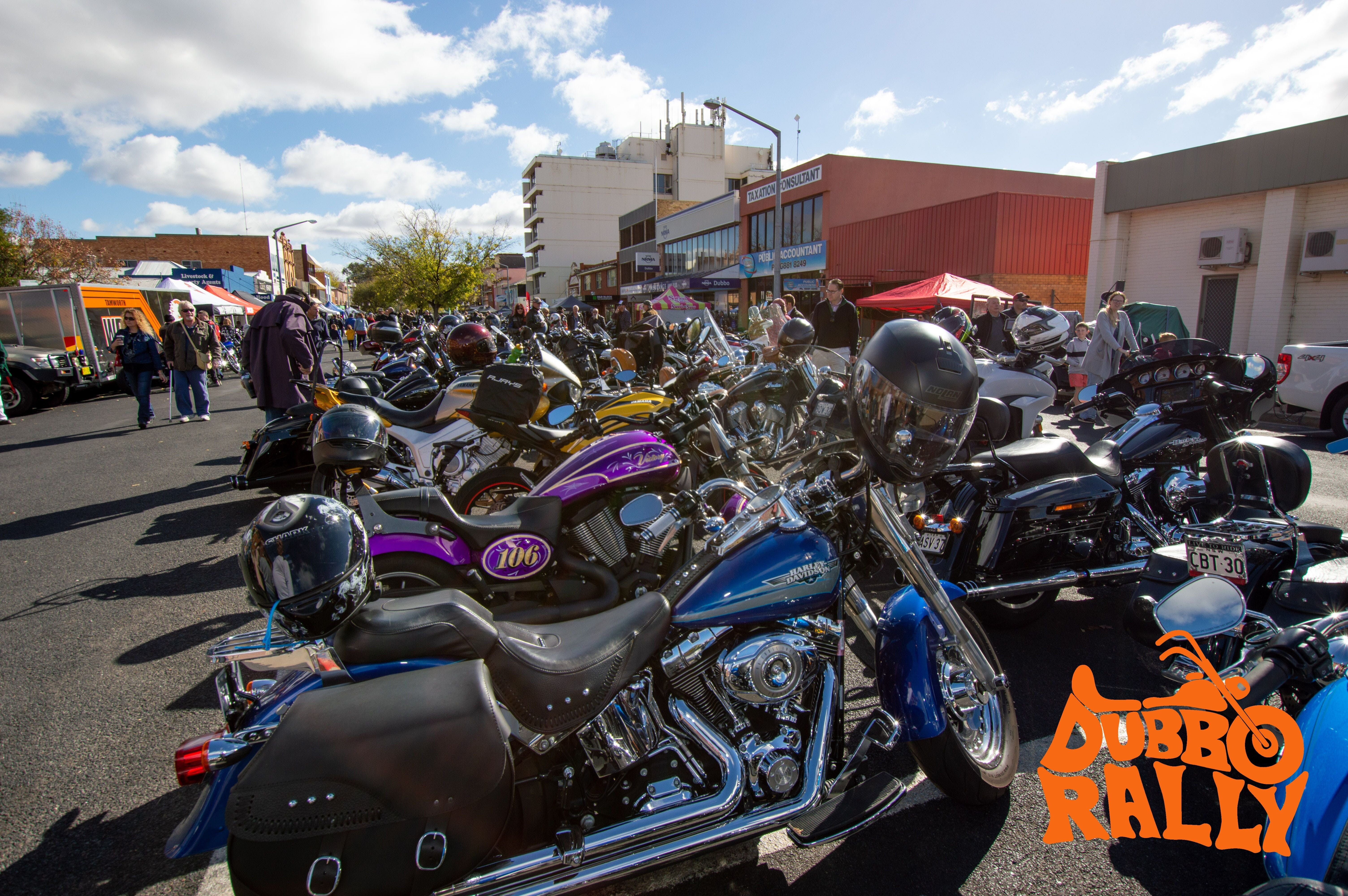 Dubbo Motor Bike Rally - WA Accommodation