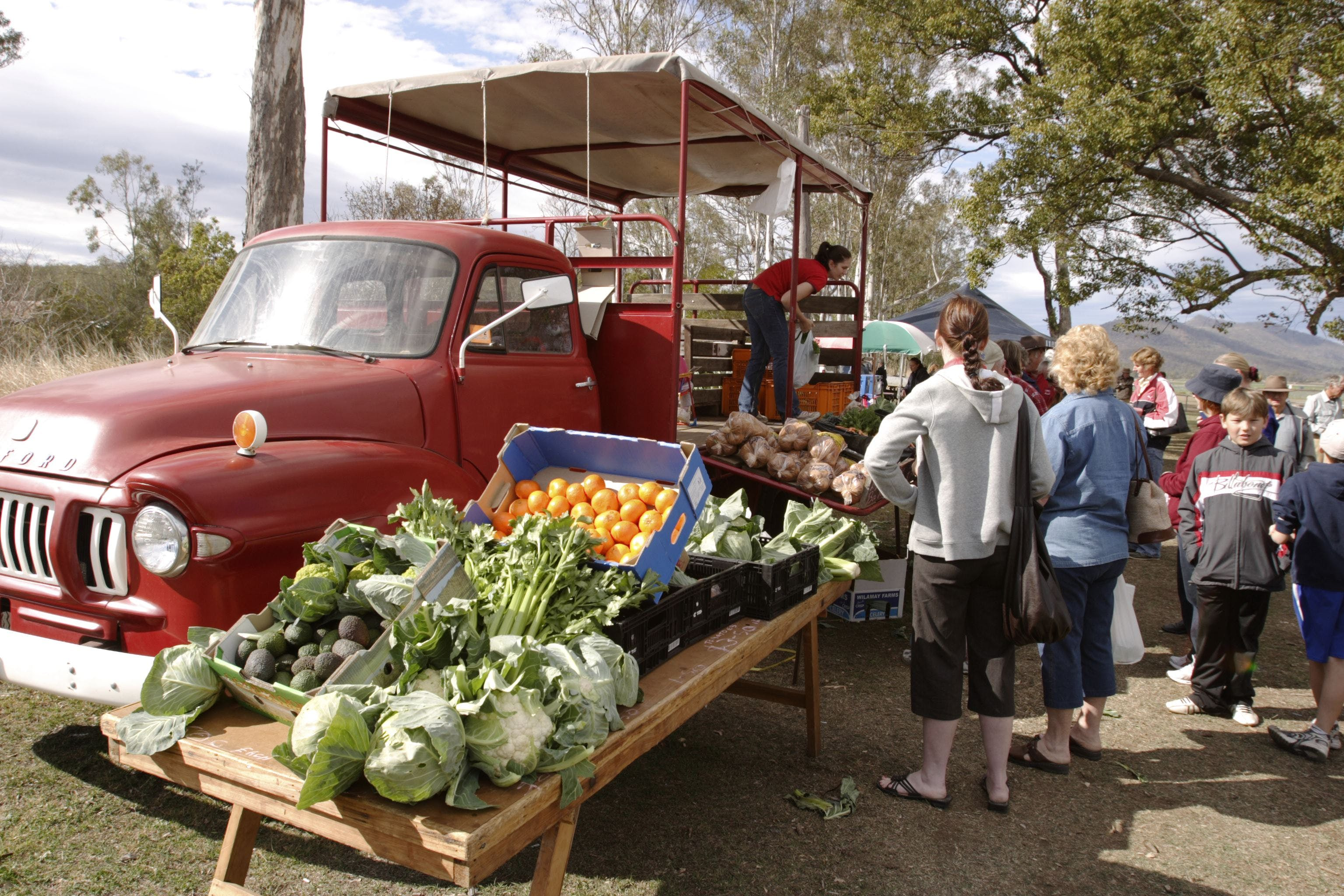 Murphys Creek Markets - WA Accommodation