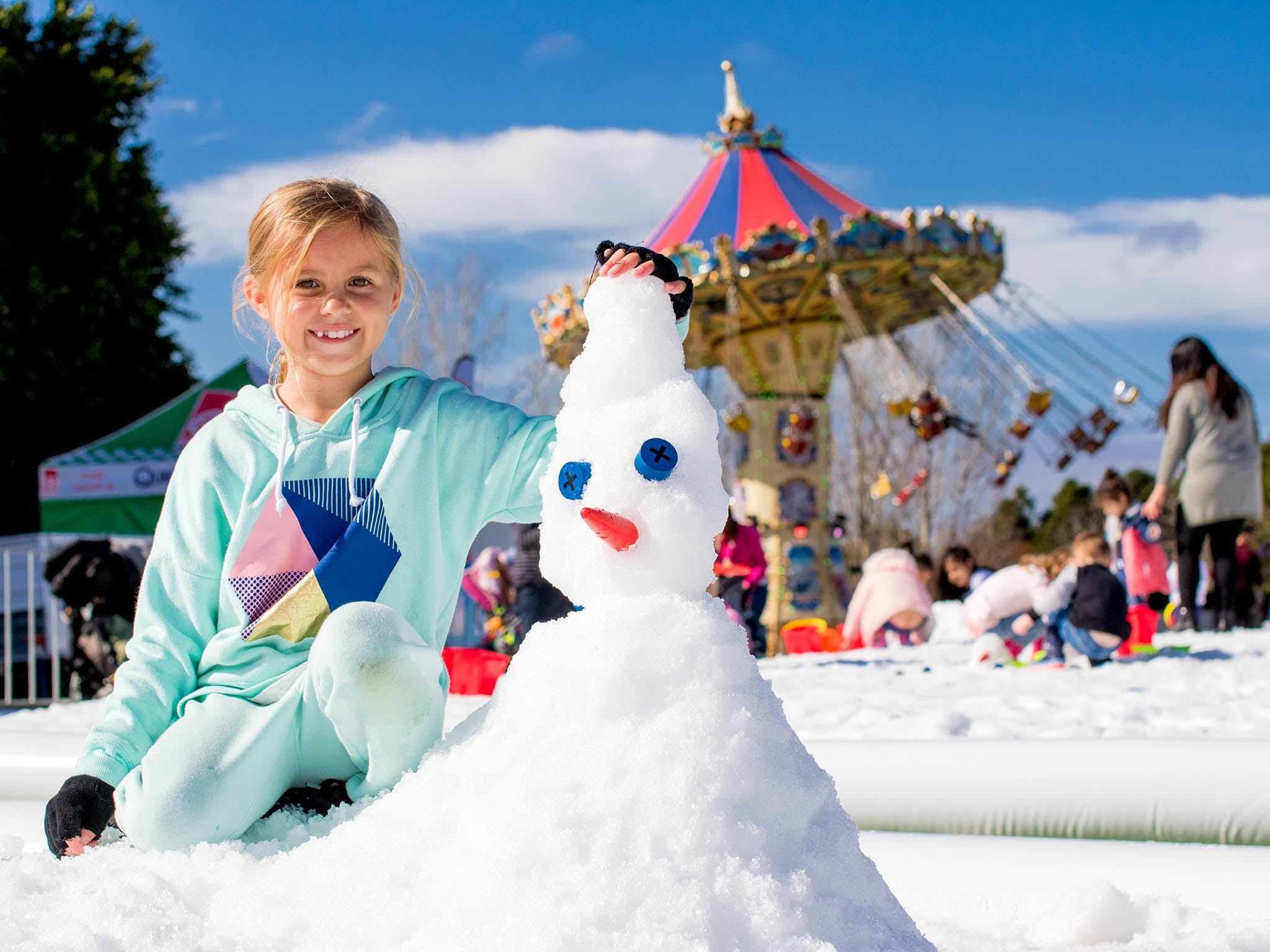 Snow Time in the Garden - Hunter Valley Gardens - Cancelled - WA Accommodation