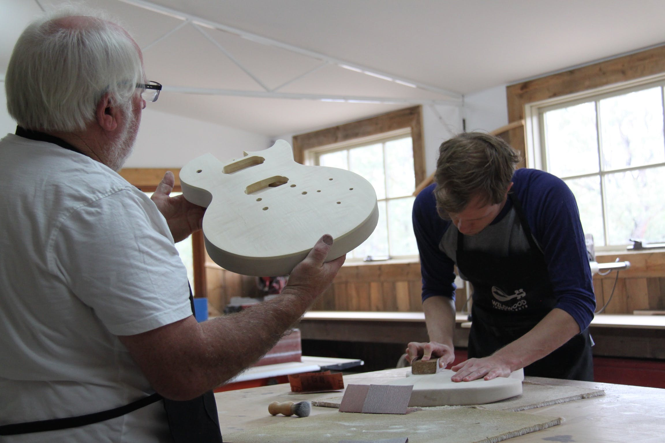 Electric Guitar Making Courses - WA Accommodation