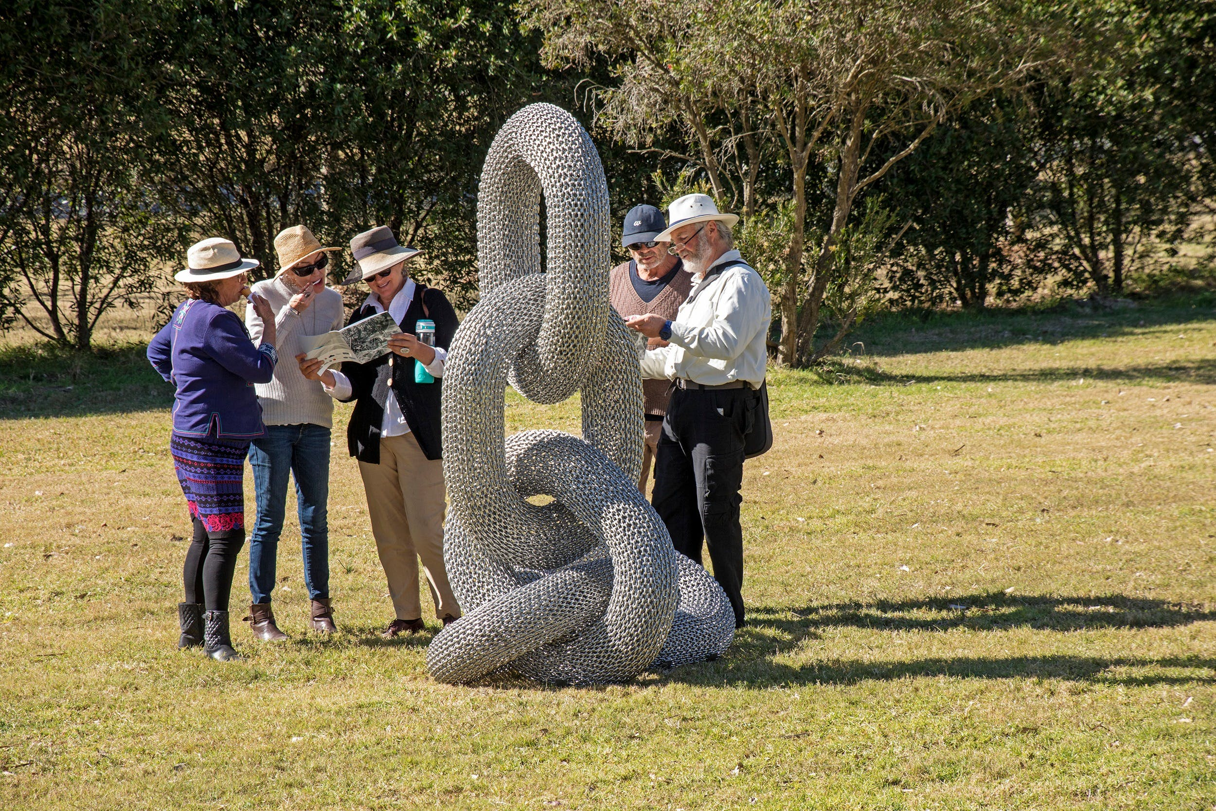 Sculpture for Clyde - Outdoor Exhibition - WA Accommodation