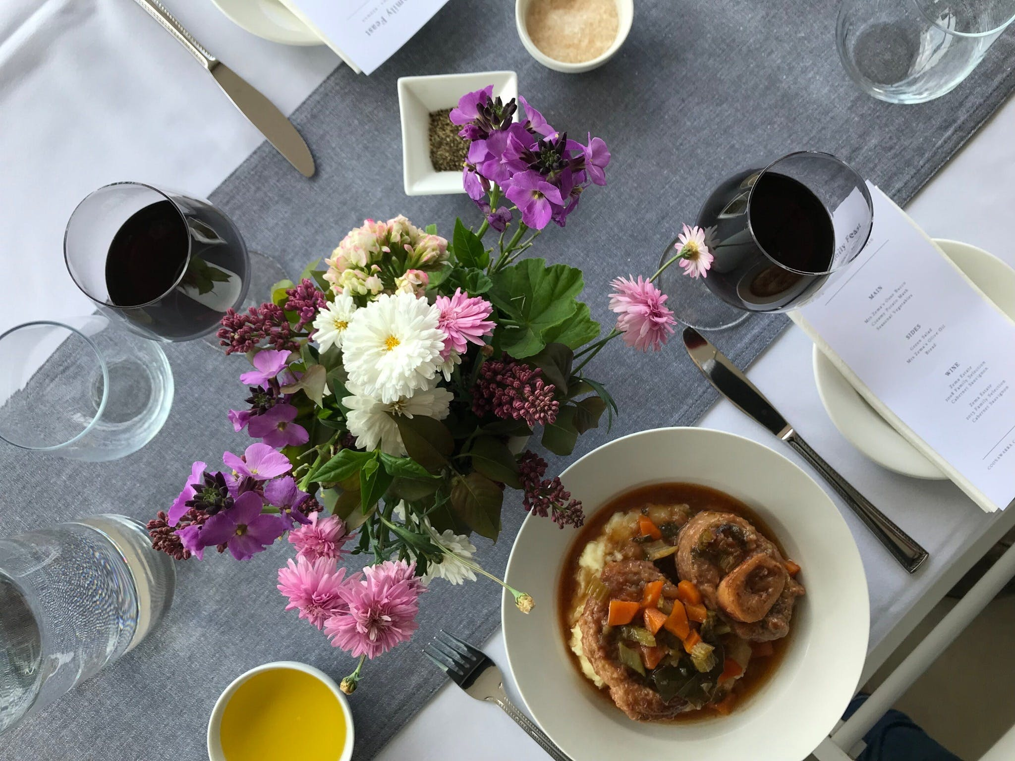 The Family Feast  Three Coonawarra families three tables three courses. - WA Accommodation