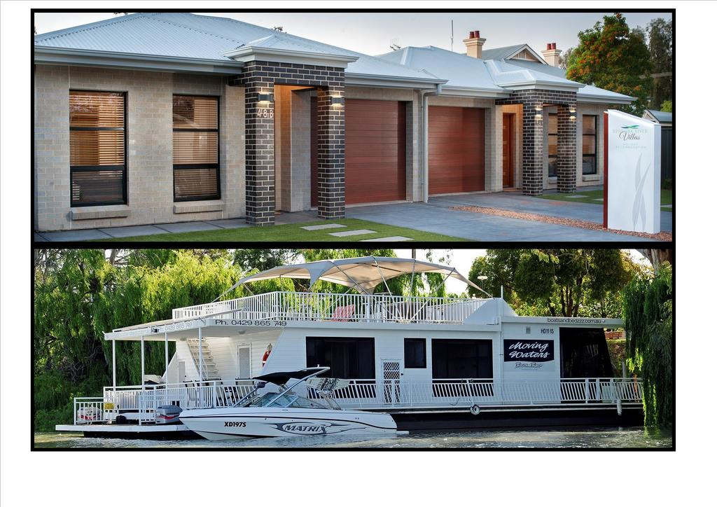 Renmark River Villas and Boats  Bedzzz - WA Accommodation